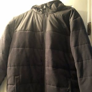 Boys reversible the North face winter coat